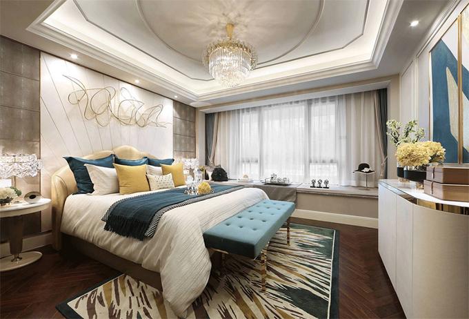 3房2厅次卧装修效果图