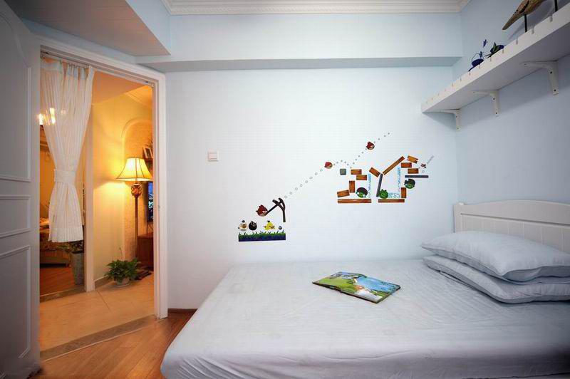 110平米美式田园装修风格客房效果图