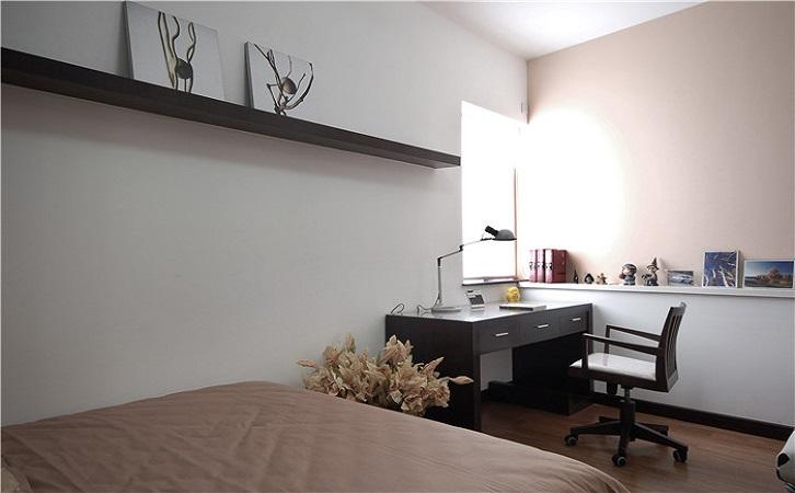 100平米新中式风格次卧装修效果图