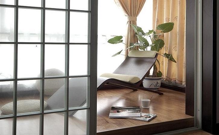 100平米新中式风格阳台椅子图片