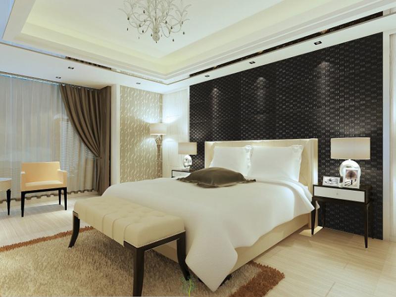 70平小户型现代风格卧室效果图