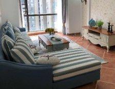 远大麓园90平3房2厅2卫简欧现代装修案例