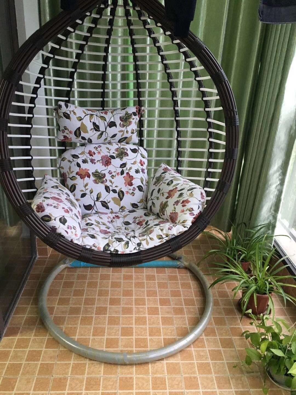 113平米现代简约风格阳台椅子图片