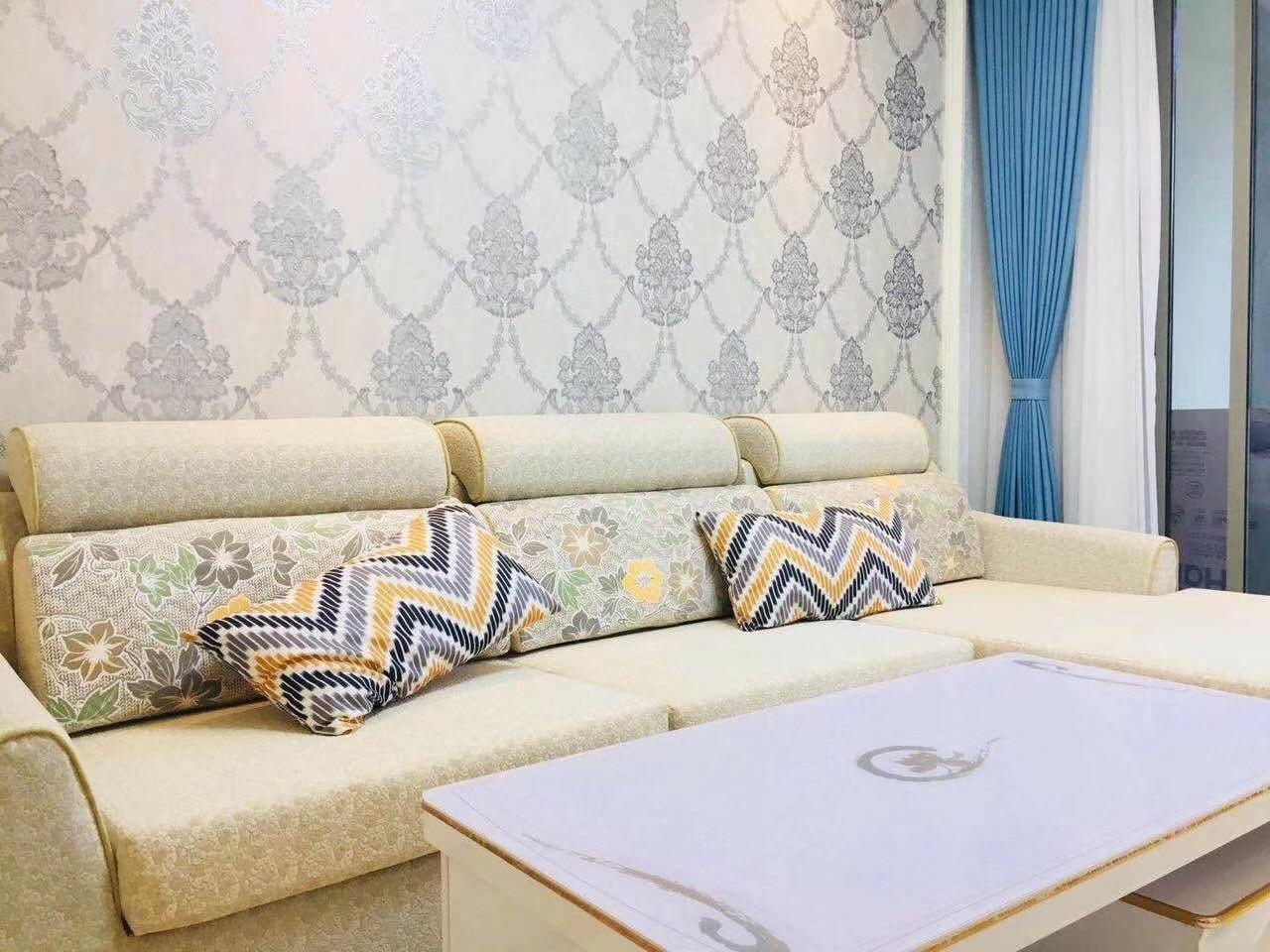 长沙100平米三房两厅北欧简约风格客厅沙发