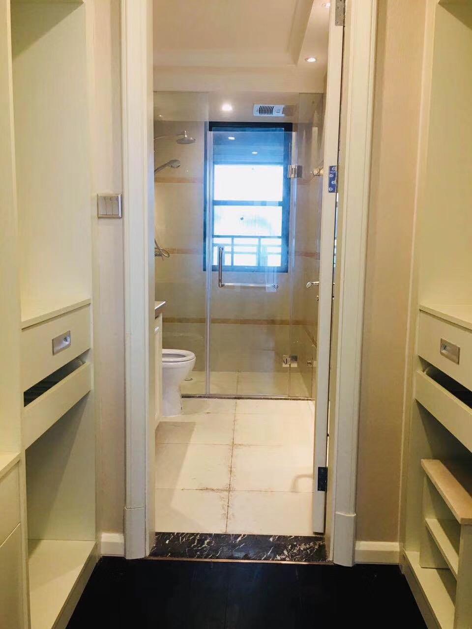 长沙100平米三房两厅北欧简约卫生间效果图
