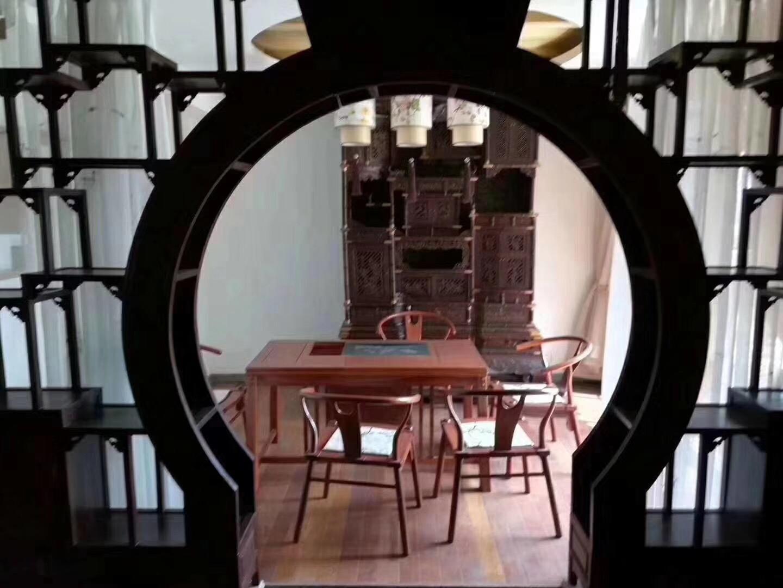长沙130平中式古典风格餐厅装修效果图