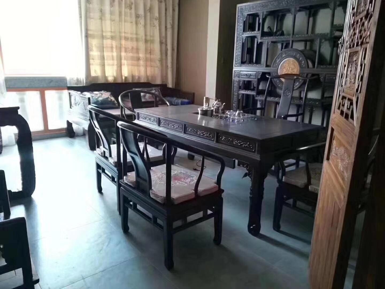长沙130平中式古典风格客厅装修效果图