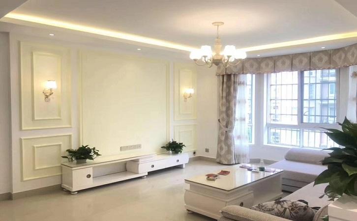 117平米简欧风格客厅装修效果图