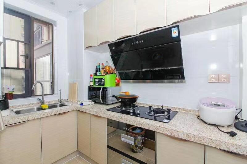 长沙80平米现代简约风格厨房装修效果图