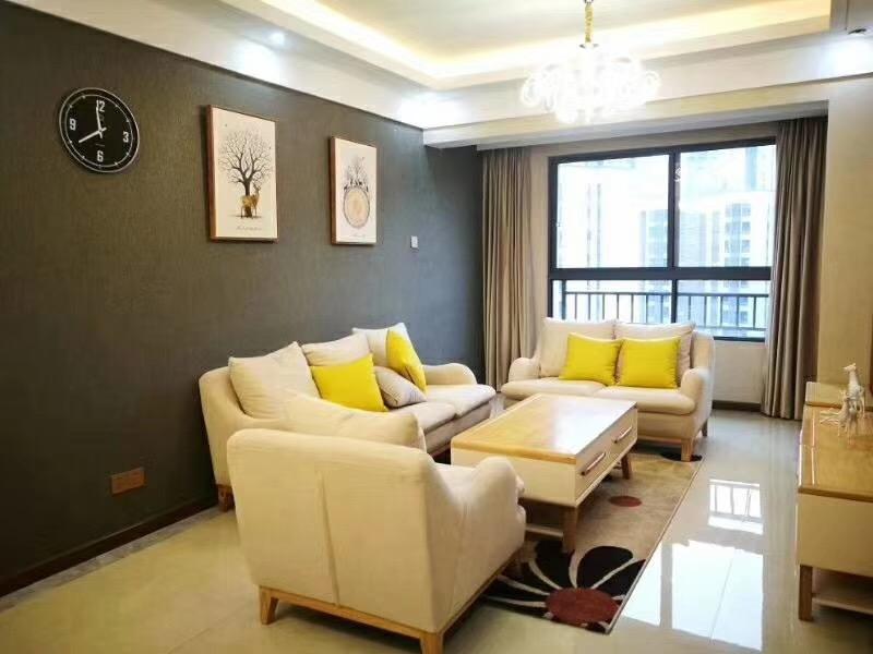 湘潭80平米新中式风格客厅装修效果图
