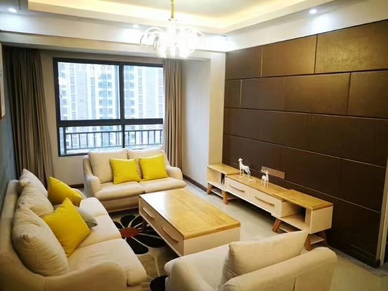 湘潭天元御城80平米新中式风格装修案例图
