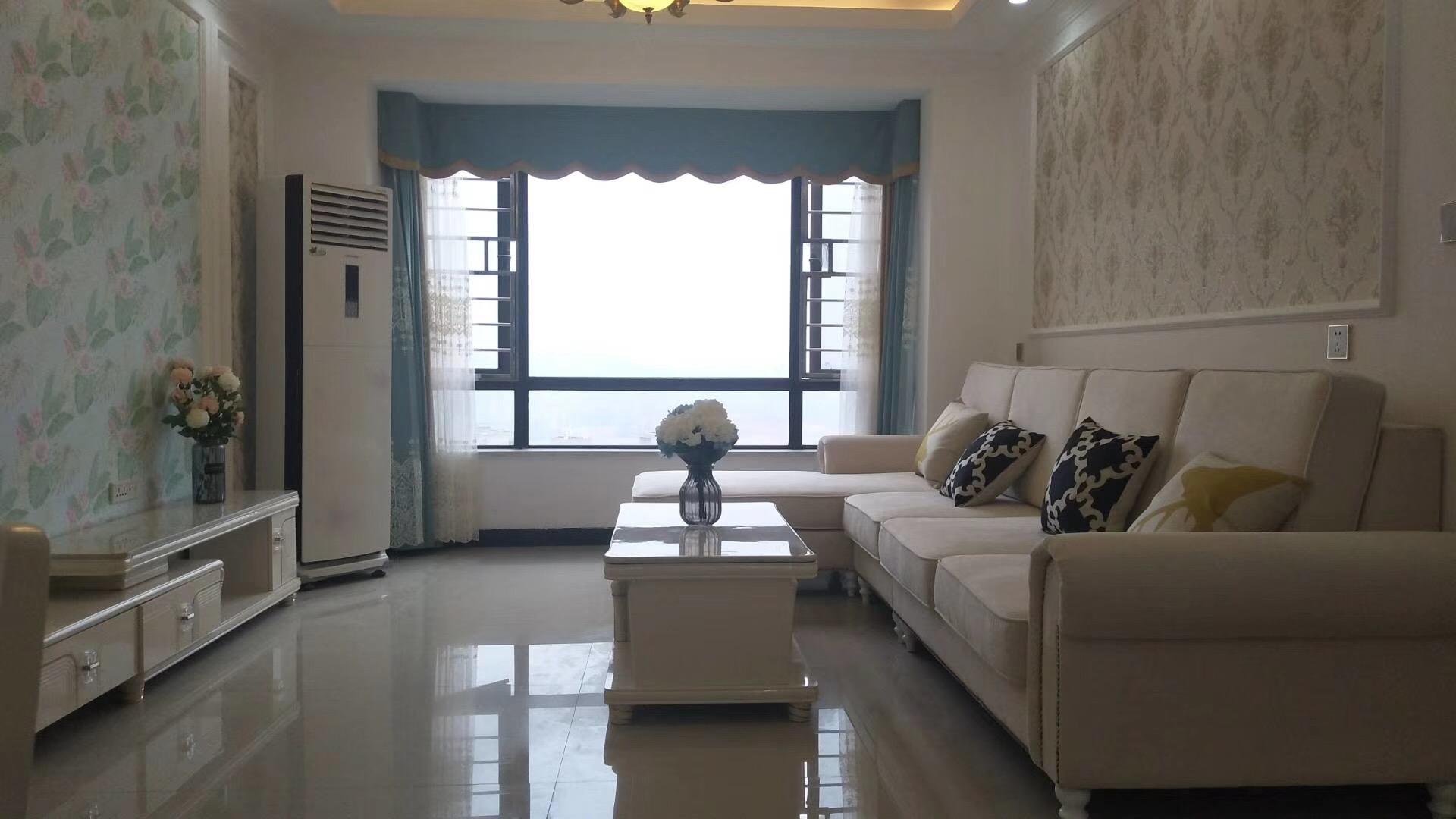 怀化85平米现代简约风格客厅装修效果图