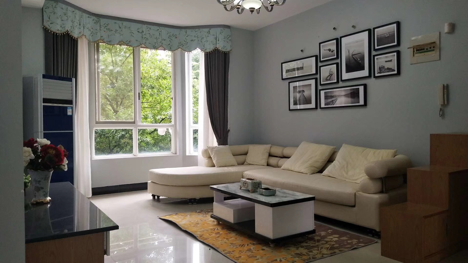 娄底130平米地中海风格客厅装修效果图