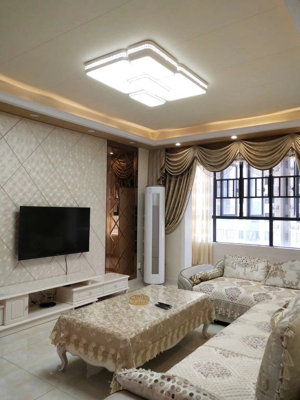 湘潭麓谷林语90平米北欧豪华风格装修案例