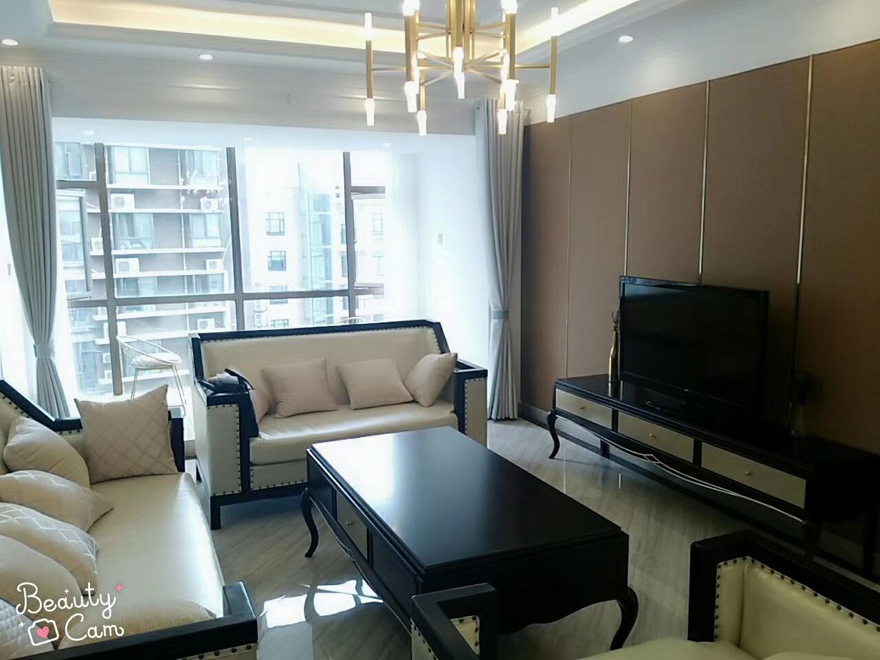 湘潭新府华城115平米现代简约风格装修案例