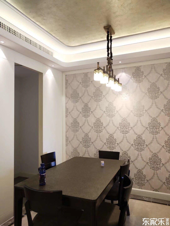 118平米北欧现代风格餐厅装饰