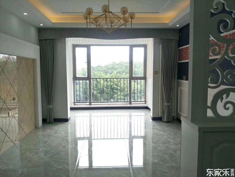 湘潭大汉汉园96平米北欧现代装修案例