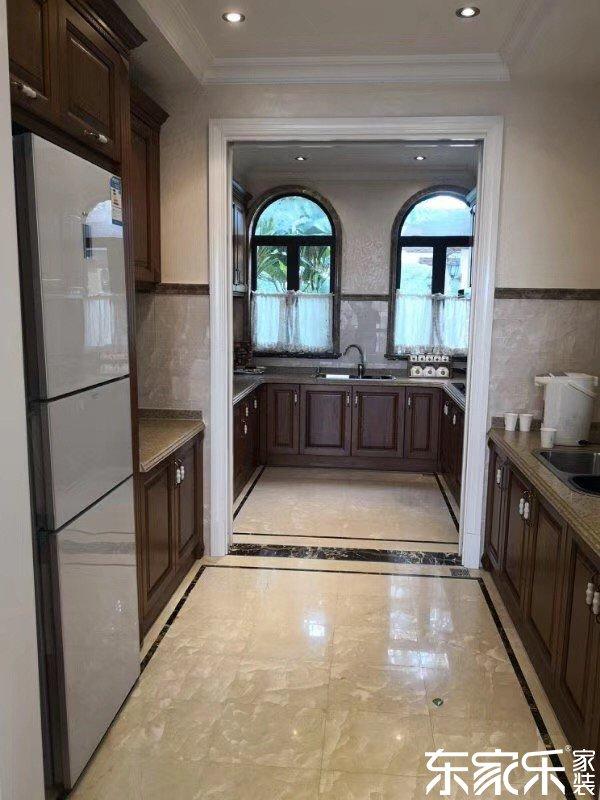 130平米欧式风格厨房走廊展示