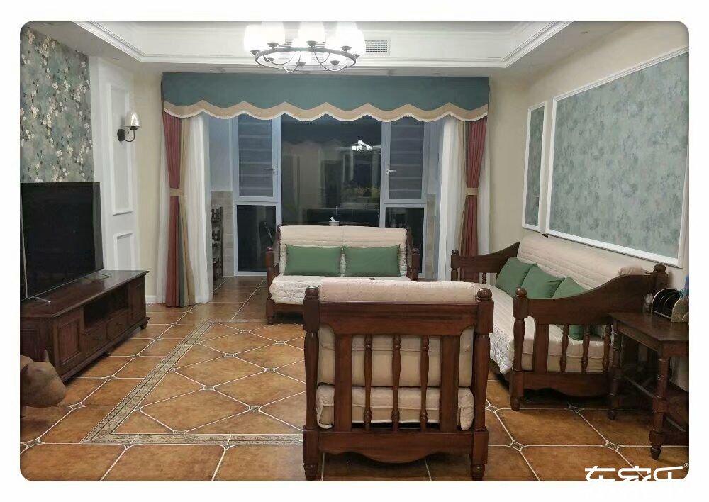 100平米地中海风格客厅装修效果图