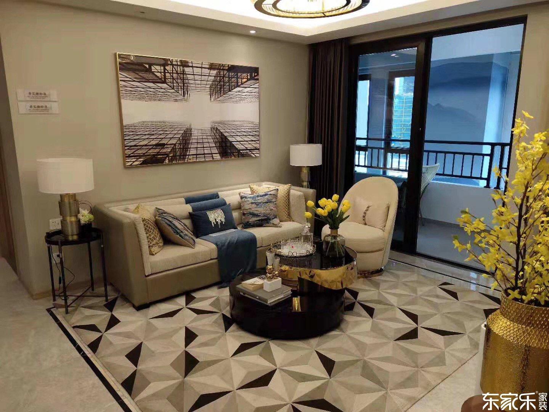 115平米中式风格客厅装修效果图