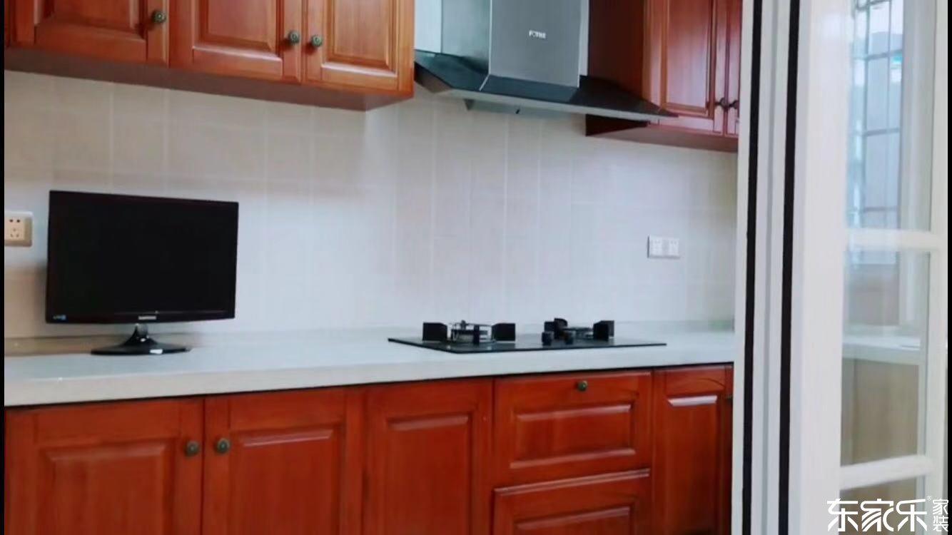 100平米现代简约风格厨房装修效果图