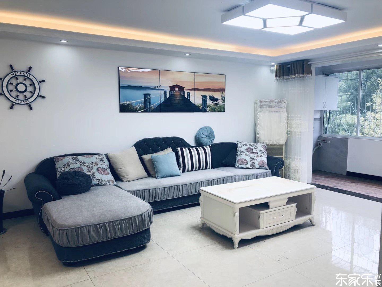 100平现代简约风格客厅装饰搭配图