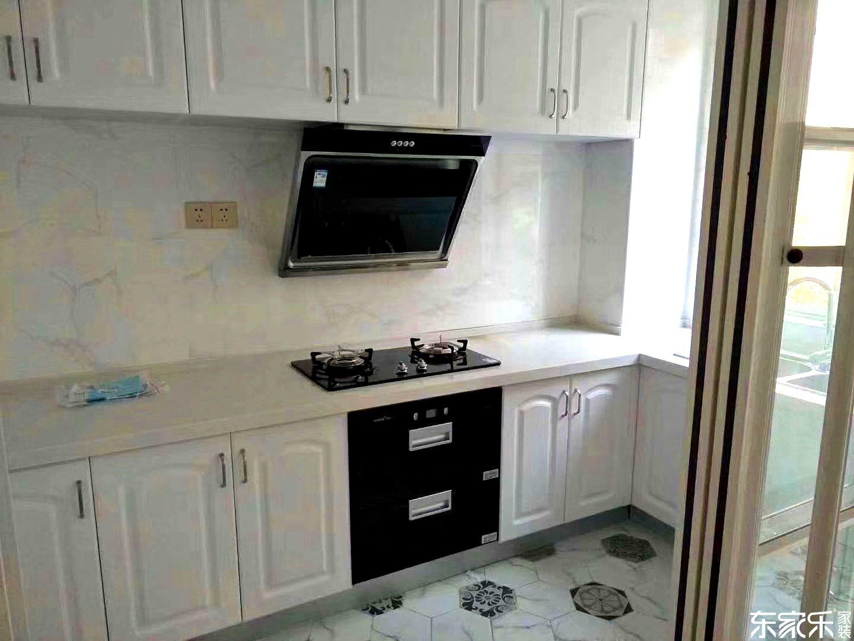 90平现代简约厨房装修效果图